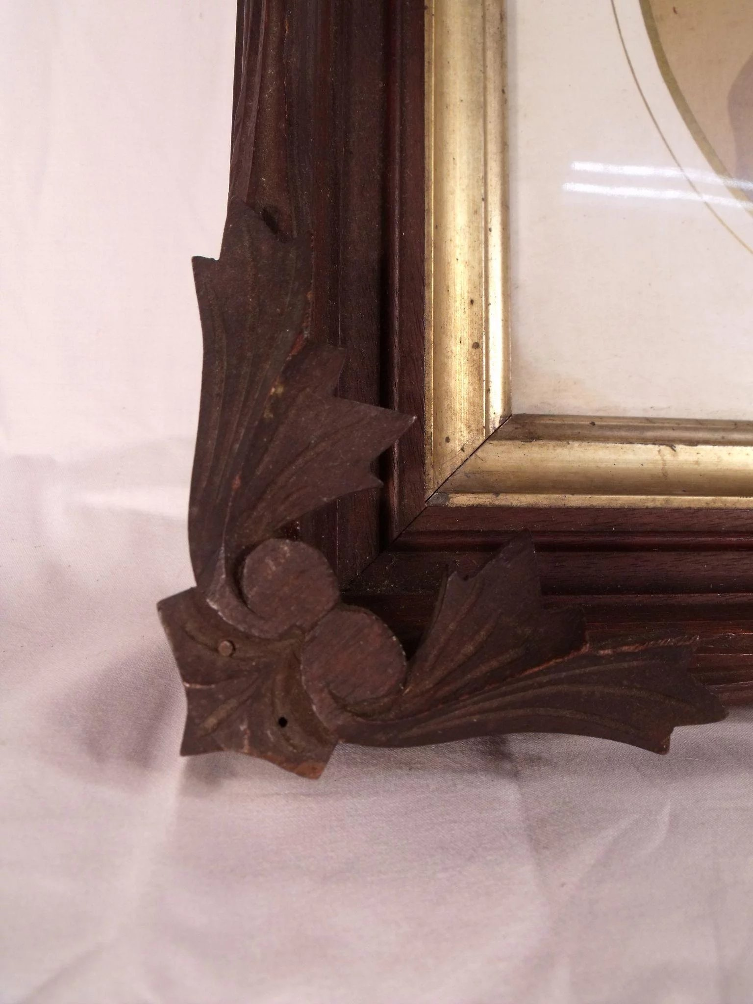 Wonderful Antique Carved Wooden Black Forest Style