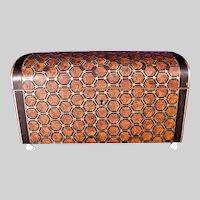 Antique Napoleon III Inlaid Tahan Paris Table Box