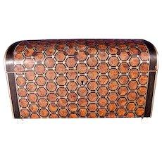 Fantastic Antique Napoleon III Inlaid Tahan Paris Table Box