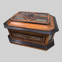Monumental Antique French TAHAN Table Box c1885