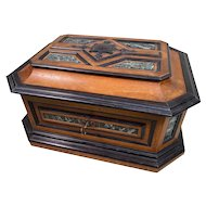 Spectacular Large Antique TAHAN Table Box c1885