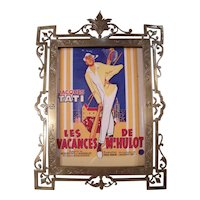 Very Fine Antique French Bronze Picture Frame by Alphonse GIROUX