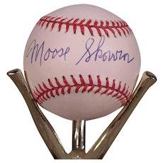 Vintage Moose Skowron Autographed Baseball