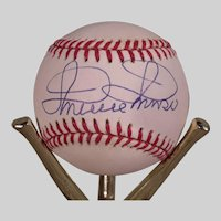 Vintage Minnie Minoso Autographed Baseball