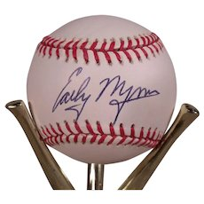 Vintage Early Wynn Autographed Baseball