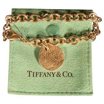 Lovely Retired Tiffany & Co. New York Sterling Silver Bracelet
