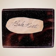 Incredible Babe Ruth et al Baseball Cut Signature Collection