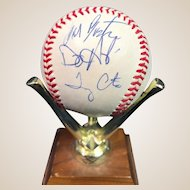 1996 Reading Phillies Autographed Baseball