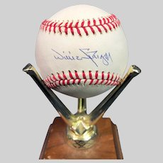 Fantastic Willie Stargell Autographed Baseball
