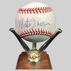 Wonderful Monte Irvin Autographed Baseball