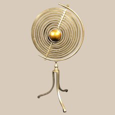 Vintage Copernican Armillary Sphere