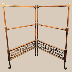 Very Fine Antique Chinese Petite Drying Rack