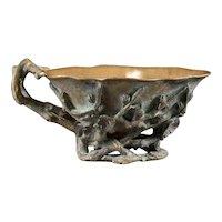 Rare Alph. GIROUX 1850's Bronze Bowl