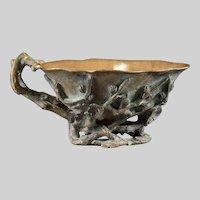 Very Rare Alphonse GIROUX 1850's Bronze Bowl