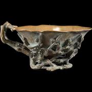Exceedingly Rare GIROUX 1850's Bronze Bowl