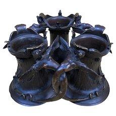 Outstanding Antique Alphonse GIROUX Bronze Desk Tidy