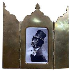 Antique French Alphonse GIROUX Folding Cover Bronze Frame