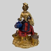 Very Rare Alphonse GIROUX c1840 Woman Desk Tidy