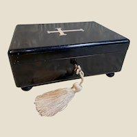 Very Rare Antique French Liturgy or Sacrament Box by Maison VERVELLE