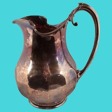 Important Coin Silver Water Pitcher by James E. Spear, Charleston, South Carolina