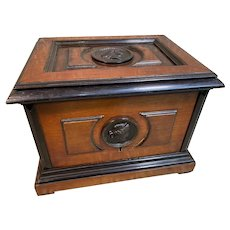Very Rare c1881 Maison GIROUX Humidor under the ownership of DUVINAGE