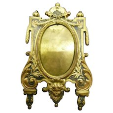 Magnificent Antique French Alphonse GIROUX Bronze picture Frame