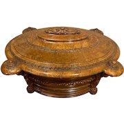 Very Rare Museum Quality Monumental English Cellarette or Wine Cooler c1820