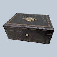 Lovely Antique French TAHAN Dresser Box c1875