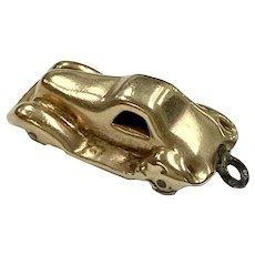 Car / Automobile Vintage Charm 9K English Gold Three-Dimensional