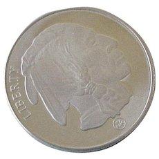 Buffalo Indian Head .999 Fine Silver Round Bullion 1 Ounce