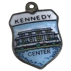Kennedy Center Vintage Charm 800 Silver Colorful Glass Enamel