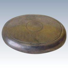 Sterling Silver Oval Snuff Box London 1903