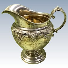 Grande Baroque Creamer Sterling Silver by Wallace