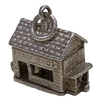 Hair Salon Moving Vintage Charm Sterling Silver