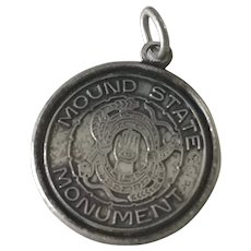 Mound State Monument Vintage Charm Native American Archaeological Site