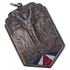 Spanish Sporting Medal 1942 Sterling Silver