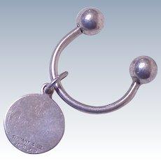 Vintage Key Ring Sterling Silver Tiffany & Co