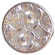 Victorian Era Lingerie Clip 14K Gold circa 1861