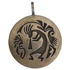 Kokopelli Charm/Pendant Sterling Silver Circa 1980's