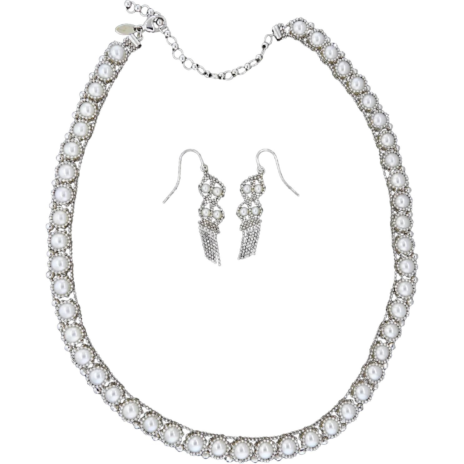 e7befaeef Iridesse, by Tiffany & Co., Cultured Pearls in 18K White Gold, : Circa  Vintage Jewelry | Ruby Lane