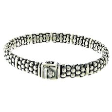 LAGOS Caviar Beaded Bracelet in Sterling Silver