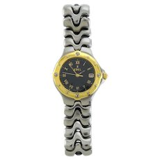 Function and Beauty Ebel Sportwave Watch - 18k Bezel and Stainless Steel