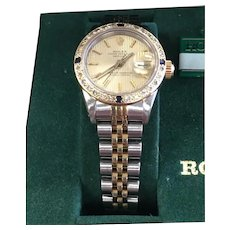 Rolex Datejust 2-Tone Gold Stainless Ladies Watch