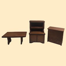 Vintage 1940's Dollhouse Furniture