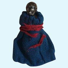 Baby Head China Doll Rare Black Antique Bathing Doll Baby