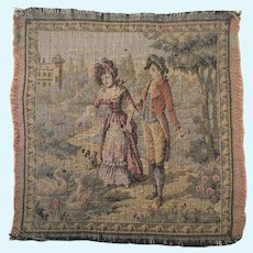 Vintage French Dollhouse Tapestry