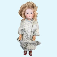 French Character Antique Doll by LANTERNIER, Limoges France RARELY SEEN Model c.1915