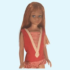 Gorgeous First Issue Skipper Redhead Titian Barbie Little Sister Doll