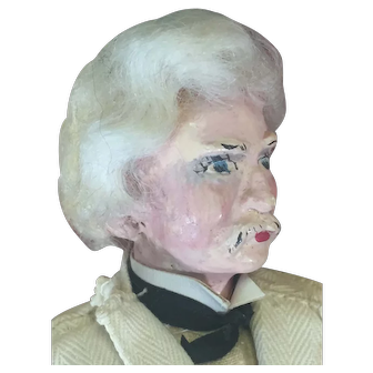 1930's Mark Twain Doll by Eubank Dolls