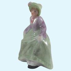 """1 3/4"""" Fine Antique German Dollhouse Figurine for Fireplace Mantle, Tabletop or Bedroom Dresser"""